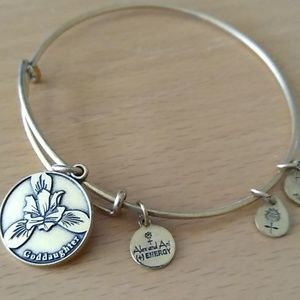"Alex and Ani bangle "" goddaughter"""